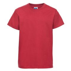 SCALLYWAGS NURSERY SCHOOL CLASSIC RED  T- SHIRT WITH LOGO